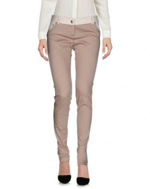 Повседневные брюки BETTY BLUE. Цвет: голубиный серый