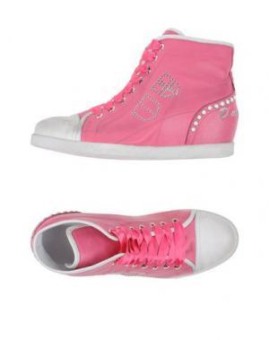 Высокие кеды и кроссовки D'ACQUASPARTA. Цвет: светло-фиолетовый