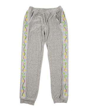 Повседневные брюки PAESAGGino. Цвет: серый