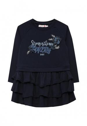 Платье Boboli. Цвет: синий
