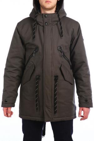 Куртка XASKA. Цвет: мультицвет