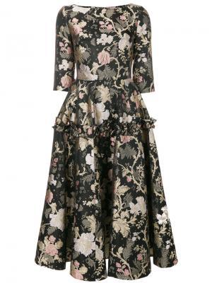Платье с цветочным принтом Piccione.Piccione. Цвет: многоцветный