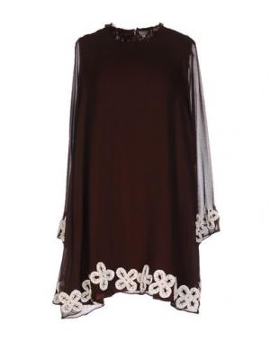 Короткое платье JUPE BY JACKIE. Цвет: какао