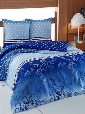 Комплект Тет-а-Тет. Цвет: синий, голубой