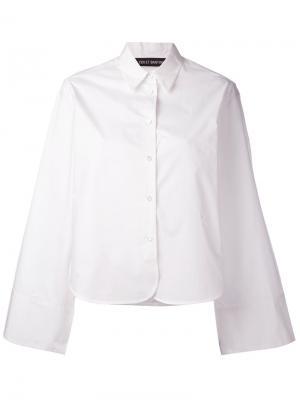 Рубашка свободного кроя Ter Et Bantine. Цвет: белый