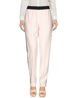 Повседневные брюки GAT RIMON. Цвет: светло-розовый