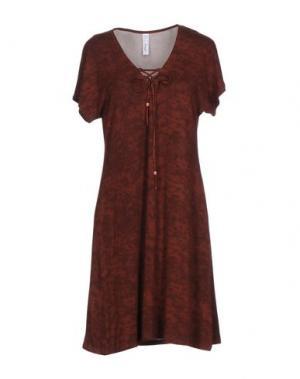 Ночная рубашка ANTIGEL. Цвет: коричневый