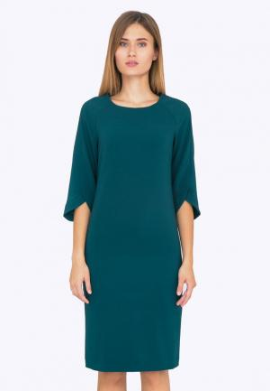 Платье Emka. Цвет: бирюзовый