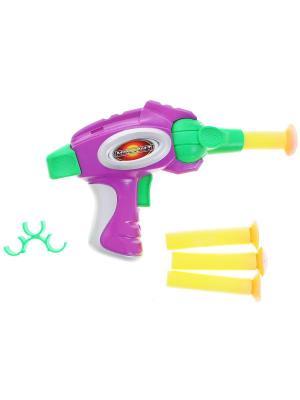 Игрушечный пистолет Москит DREAM MAKERS. Цвет: фиолетовый
