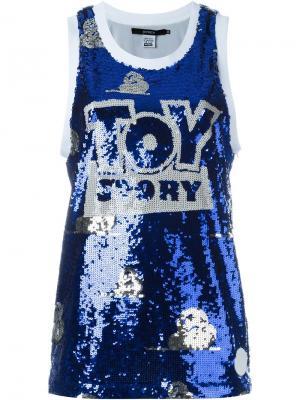 Майка Toy Story Joyrich. Цвет: синий