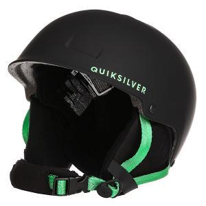 Шлем для сноуборда детский  Empire Black Quiksilver. Цвет: черный,зеленый