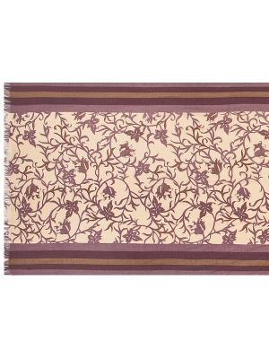 Шарф Eleganzza. Цвет: коричневый, фиолетовый, бежевый