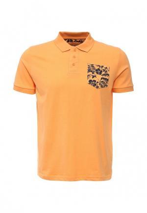 Поло Fresh Brand. Цвет: оранжевый