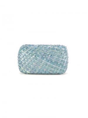 Straw medicine case Serpui. Цвет: синий