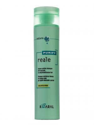 Purify Восстанавливающий шампунь для поврежденных волос Reale Shampoo 250мл. Kaaral. Цвет: светло-зеленый