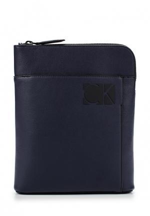 Сумка Calvin Klein Jeans. Цвет: синий