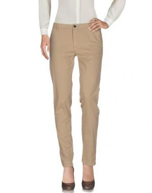 Повседневные брюки ESSENTIEL ANTWERP. Цвет: бежевый