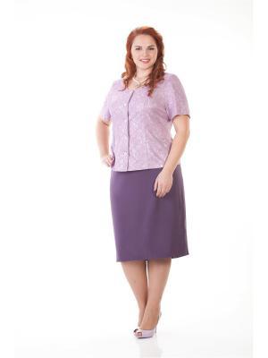 Жакет LUDMILA. Цвет: лиловый