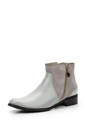 Ботинки Bosccolo. Цвет: серый