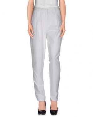 Повседневные брюки DAMIR DOMA. Цвет: белый