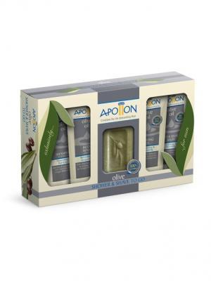 Подарочный набор для мужчин Apollon Aphrodite. Цвет: салатовый