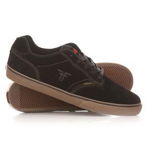 Кеды кроссовки низкие  Slash Black/Gum Fallen. Цвет: черный