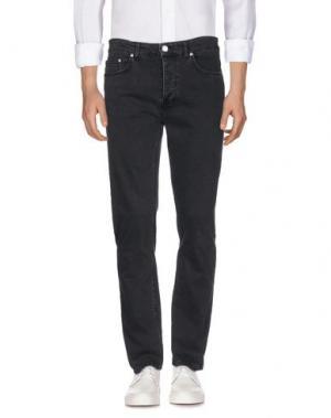 Джинсовые брюки WON HUNDRED. Цвет: черный