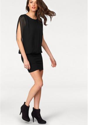 Платье VIVANCE. Цвет: черный
