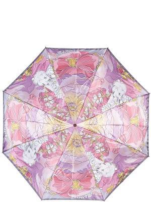 Зонт Eleganzza. Цвет: розовый, светло-оранжевый, сиреневый