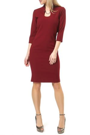 Платье Jones. Цвет: красный