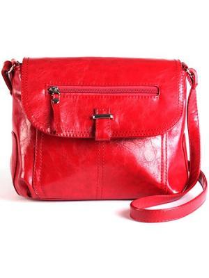 Сумка-планшет S.LAVIA. Цвет: красный