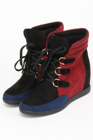 Ботинки Sorte Felice. Цвет: черный