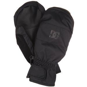 Варежки DC Seger Mitt Black Shoes. Цвет: черный