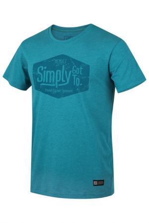 T-shirt HANNAH. Цвет: blue