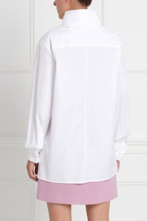 Хлопковая рубашка Como MoS. Цвет: белый