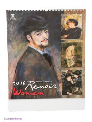 Календарь Renoir (Ренуар) КОНТЭНТ. Цвет: белый