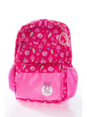 Рюкзак Vittorio Richi. Цвет: розовый, малиновый