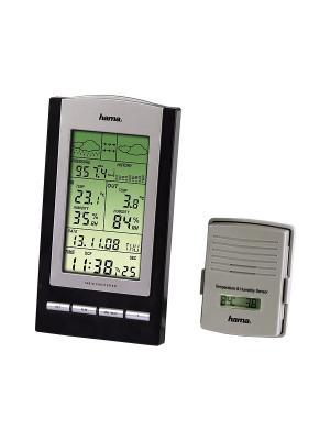 Метеостанция  H-76045 EWS-800 HAMA. Цвет: черный, серебристый