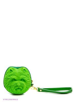 Сумка Adamo 3D Shi Tzu. Цвет: салатовый