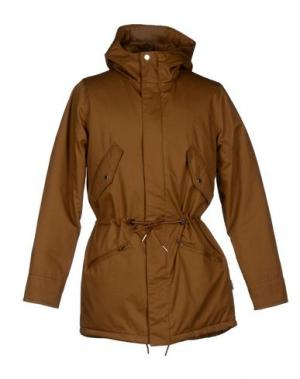 Куртка ELVINE. Цвет: коричневый