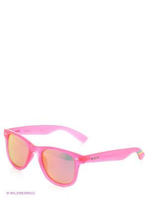 Солнцезащитные очки Polaroid. Цвет: розовый