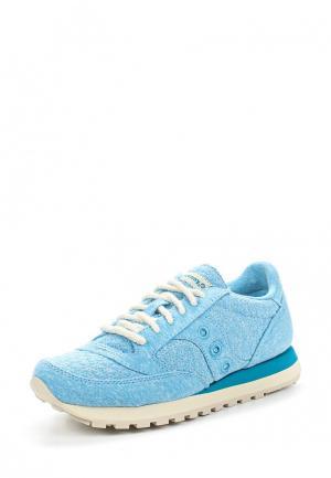 Кроссовки Saucony. Цвет: голубой