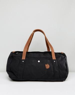 Fjallraven Черная сумка дафл No4. Цвет: зеленый