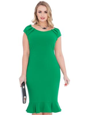Платье Goddiva. Цвет: зеленый