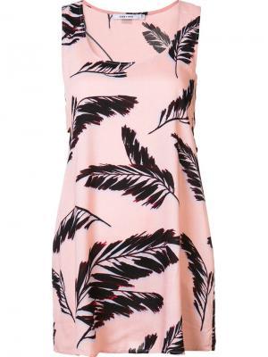 Платье Fenix Obey. Цвет: розовый и фиолетовый