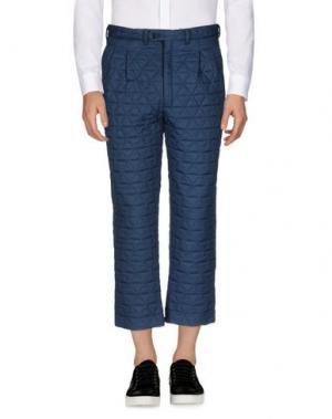 Повседневные брюки LC23. Цвет: грифельно-синий