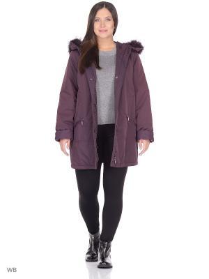 Куртка Марта VIKO. Цвет: бордовый
