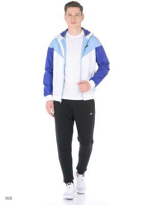Ветровка M NSW WINDRUNNER Nike. Цвет: бирюзовый, фиолетовый, белый