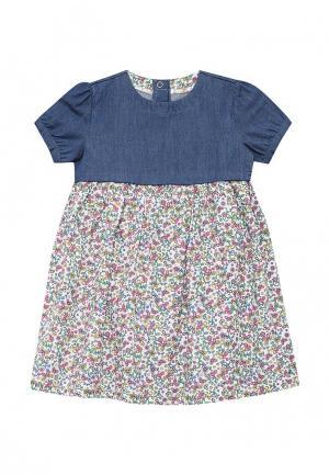 Платье Chicco. Цвет: разноцветный