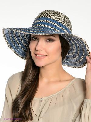 Шляпа Canoe. Цвет: синий, бежевый
